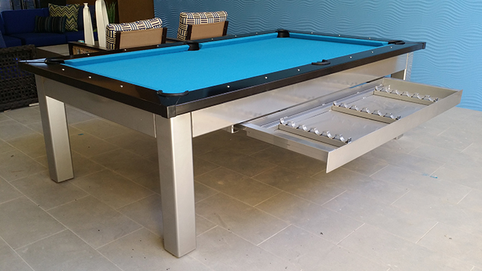 Modern pool tables for Pool showrooms sydney