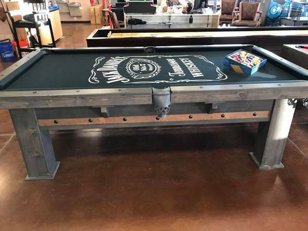 Denver Pool Table with dining top