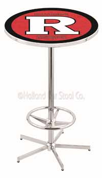 Rutgers Scarlet Knights Pub Table