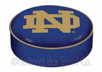 Notre Dame ND Bar Stool Seat Cover