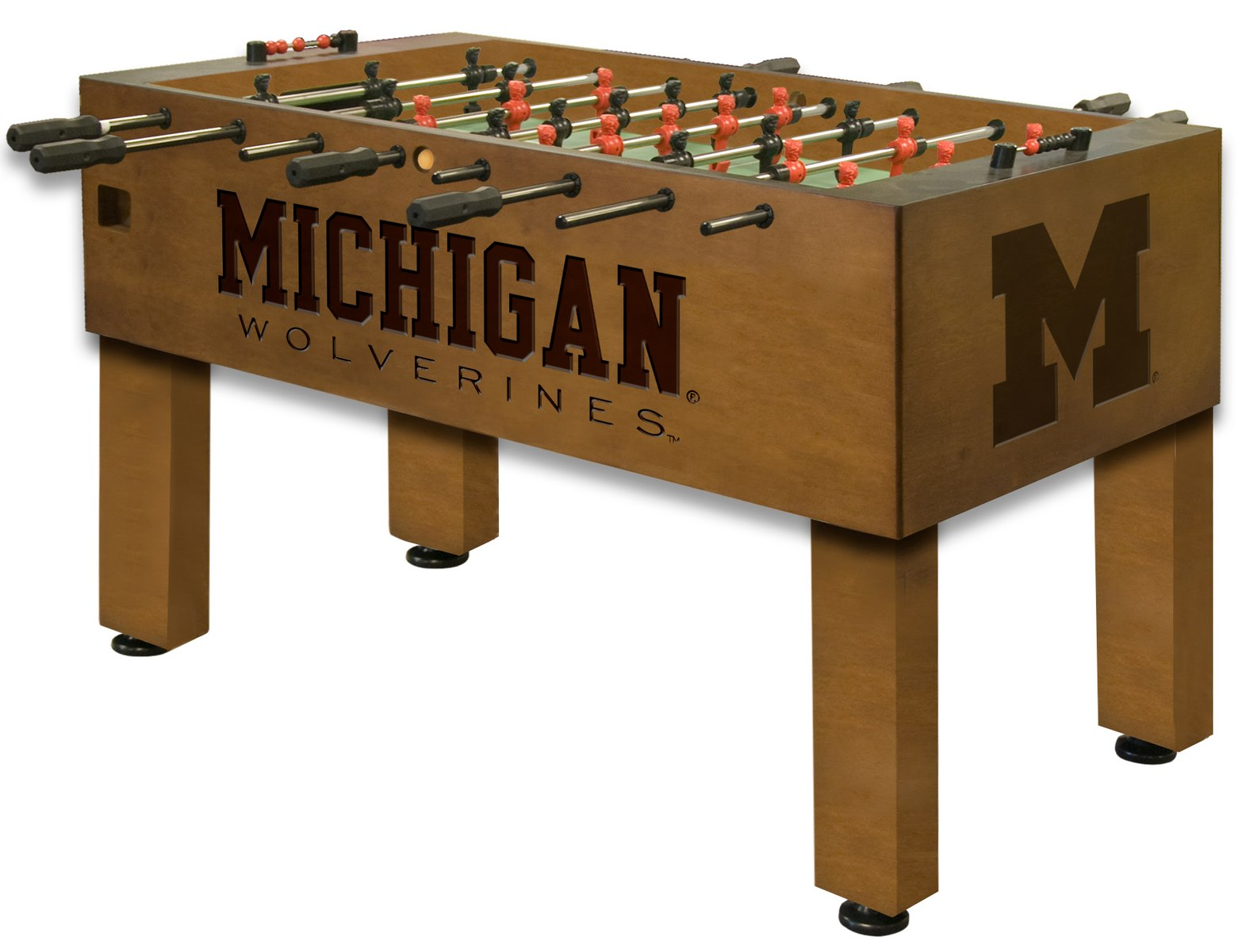 Tremendous University Of Michigan Foosball 100 Made In Usa Gmtry Best Dining Table And Chair Ideas Images Gmtryco