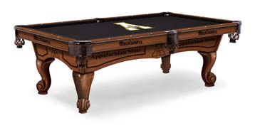 Appalachian State Pool Table