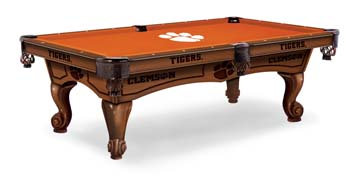 Clemson Tigers Pool Table