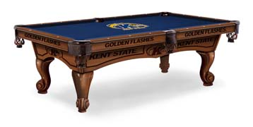 Kent State Golden Flashes Pool Table