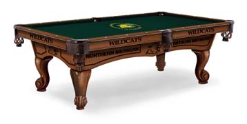 Northern Michigan University Pool Table