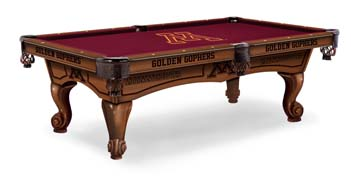 University Of Minnesota Pool Table