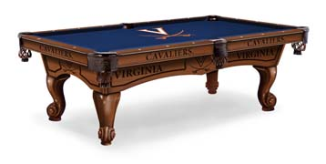 Virginia Cavaliers Pool Table