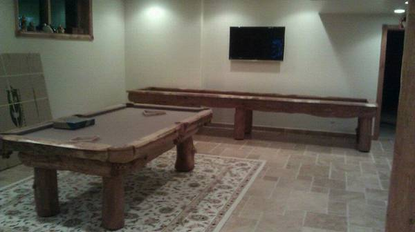 shuffleboard pool table combination