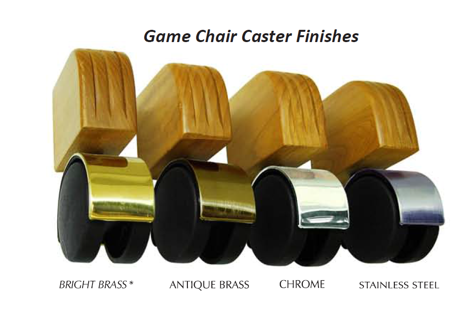 caster metal colors