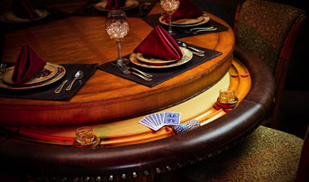 augustus poker table