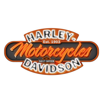 harley neon sign