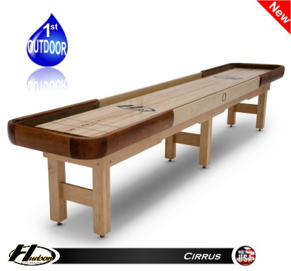 outdoor shuffleboard table