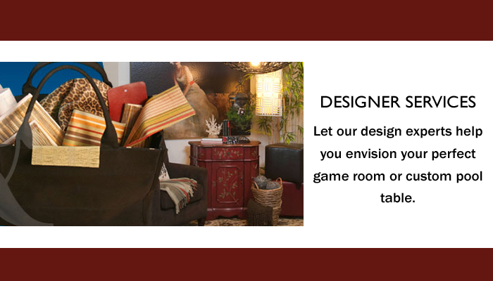Game Room Interior Design services