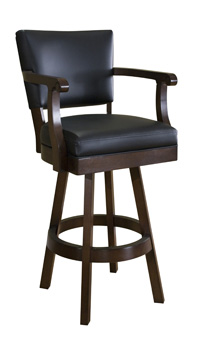 Classic Backed Bar Stool