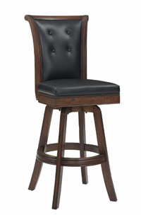 Signature Flex Back Armless Bar Stool