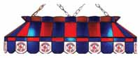 Boston Red Sox Stained Glass Shade Pool Table Lights