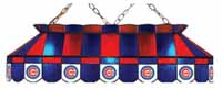 Chicago Cubs Stained Glass Shade Pool Table Lights