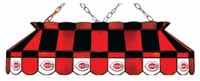 Cincinnati Reds Stained Glass Shade Pool Table Lights