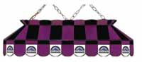 Colorado Rockies Stained Glass Shade Pool Table Lights
