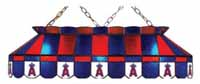 Los Angeles Angels Stained Glass Shade Pool Table Lights