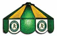 Oakland Athletics Three Lamp Pool Table Lights