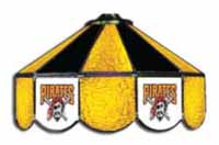 Pittsburgh Pirates Three Lamp Pool Table Lights