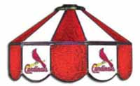 St. Louis Cardinals  Three Lamp Pool Table Lights