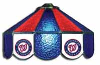 Washington Nationals  Three Lamp Pool Table Lights