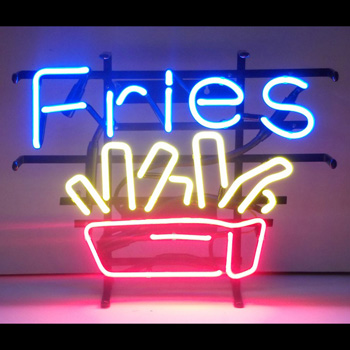Fries Neon Sign