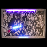 Heavy Metal Neon/LED Poster