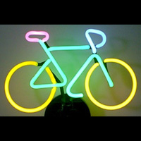 bicycle neon