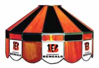 Cincinnati Bengals NFL Single Swag Pool Table Lights