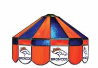 Denver Broncos NFL Single Swag Pool Table Lights