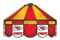 Kansas City Chiefs NFL Single Swag Pool Table Lights