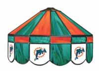 Miami Dolphins NFL Single Swag Pool Table Lights