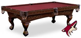 phoenix coyotes pool table