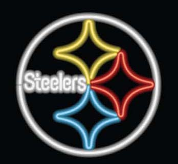 pittsburg steelers neon sign
