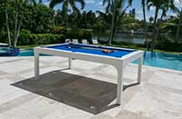 balcony outdoor pooltable