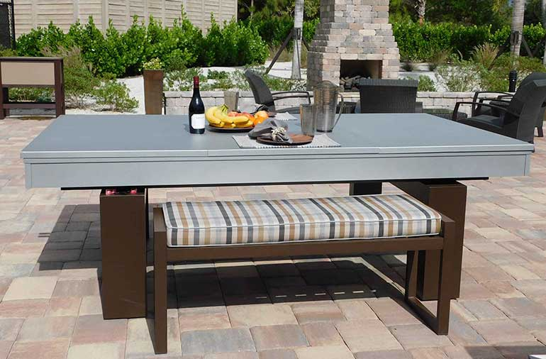 Custom Outdoor Pool Tables