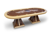 DC poker Table - pharaoh manufacturing
