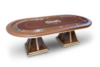 Wood Venner Texas Holdem Table