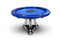 blue falcon poker table