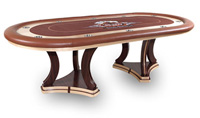 falcon texas holdem poker table