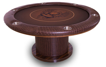 Hogan 60 Inch Poker Table Standard or Custom