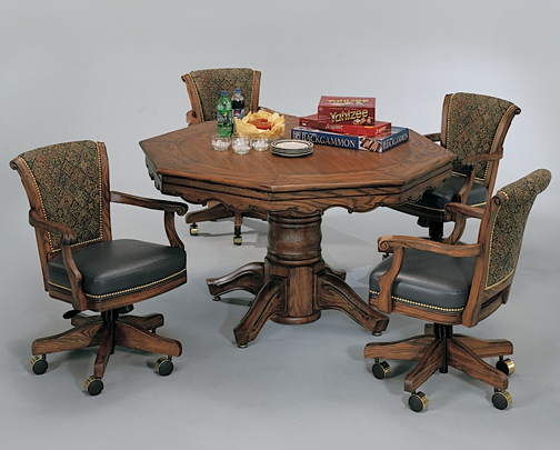 Poker Table Combination Dining Poker Tables