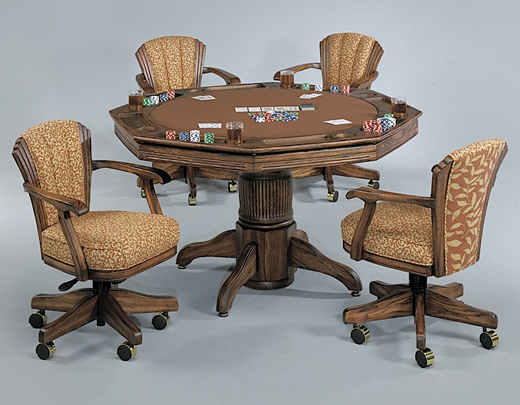 poker table  combination dining  poker tables, Dining tables
