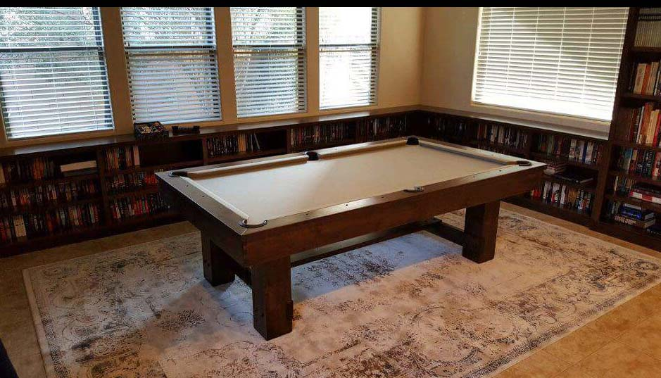 denver pool table package