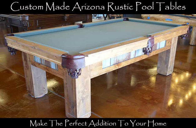 Rustic Pool Table