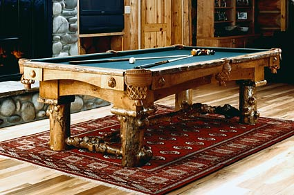 firehole rustic pool table